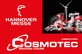 cosmotec industrial cooling cosmotec at hannover messe 24th 28th