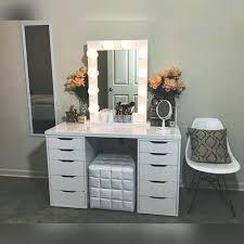 makeup desk vanity white vanity table set jewelry makeup desk bench drawer makeup vanity table makeup makeup desk