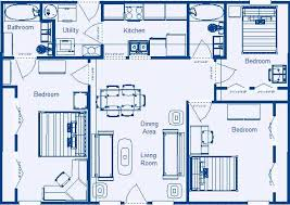 3 Bedroom Floor Plans Cool Design Ideas
