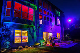 beautiful outdoor lighting. Image Of: Beautiful Exterior Led Lighting Outdoor