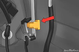 how to repair a door lock actuator yourmechanic advice yellow clips that need to be removed