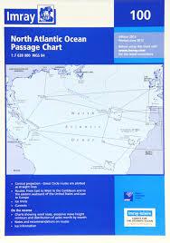 Imray Chart 100 Imray Chart 100 North Atlantic Ocean Passage Chart Imray