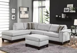 Microfiber Living Room Furniture Living Room Microfiber Sectional Sofa Home Design Interior