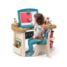 anatex art easel and kids desk combo with bench view larger