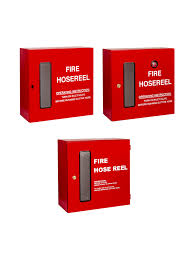 5 standard type fire hosereel cabinet