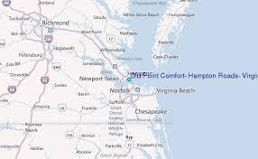 Old Point Comfort Hampton Roads Virginia Tide Station