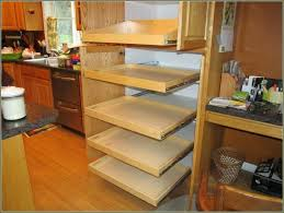 diy pull out shelves look custom pull out shelves for in narrow kitchen saving spaces diy diy pull out shelves