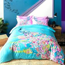 bohemian paisley pea bedding set 4pcs queen king size bedlinens four seasons duvet cover setswirly swirly