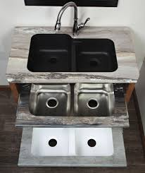 karran makes sinks especially for undermounting in laminate combining an undermount sink with one of the many stone finish laminates gives the rich
