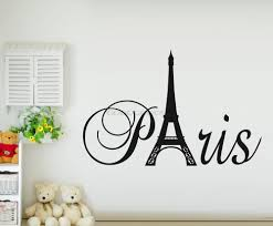 Paris Bedroom Decorations Aliexpresscom Buy New 2015 Diy Paris Art Eiffel Tower Wall