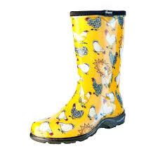 garden boots target. Garden Boots Chicken Print Rain And Daffodil Yellow Target Womens .