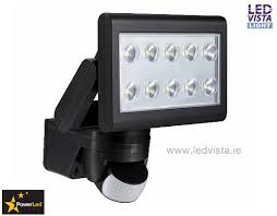 superb outdoor patio lighting 2. powerled pir led floodlight 25w neutral white 1700lm black body superb outdoor patio lighting 2