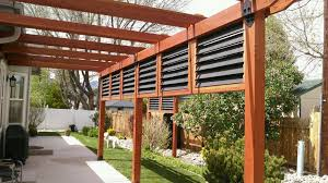 diy outdoor privacy screen ideas functional deck decorations to cozy up your backyard living space