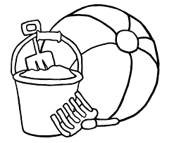 Small Picture Beach Ball Coloring Page Printable Archives Throughout Beach Ball