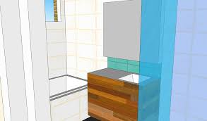 picture of diy bathroom renovation