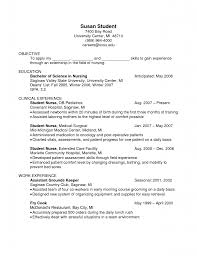 Resume Objective Lines With Education As Bachelor Of Science And