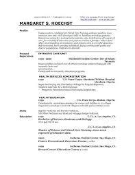 Profile Summary Cv Sample On Resume Samples Overview Foodandme Co
