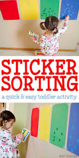 Colour Sorting Activities For Toddlers L L