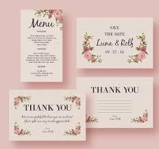 37 Wedding Menu Template Free Sample Example Format Download