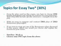 instruction for essay one % write a page long of essay topics for essay two 30% 1