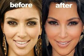 kim kardashian s eyebrows