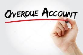 Overdue Account Hand Writing Overdue Account Stock Photo Dizanna 113151798