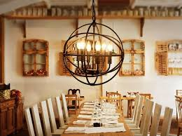 rustic dining room lighting. Interior, Rustic Dining Room Lighting Globe Wired For Peaceful Ideas Fantastic 1: G