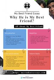 Friendship Chart For School Essays On My Best Friend Excellent Essays For Students