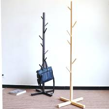 tree shaped coat rack a county woods wooden 1 4 tr shape racks