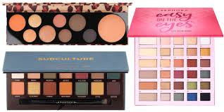 the prettiest eyeshadow palettes for fall