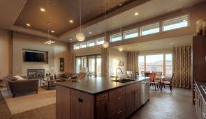 kitchen dining room lighting ideas. Stunning Kitchen Designs To Open Family Room With Dining Combo Using Fireplaces And Warm Color Schemes Also Modern Lighting Fixtures Ideas A