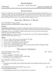 Sample Cover Letter Investment Banking Lovely Investment Banking