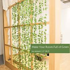 room decor garland artificial greenery