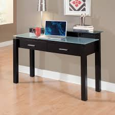 glass top office desk. home used office desk black simple with good looking frosted regarding glass top s