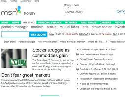 Msn Stock Quotes Custom Msn Stock Quotes Unique Msn Money Stock Quotes Magnificent Msn Stock