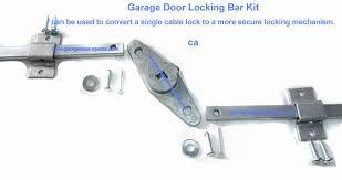 garage door locking bar kit