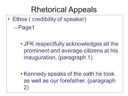 john f kennedy inaugural address ppt video online 6 rhetorical