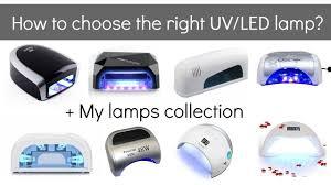 uv vs led ls for gel nail polish