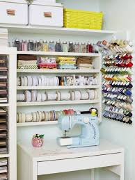 Sewing Room Storage Cabinets How To Turn Any Space Into A Dream Craft Room Hgtvs Decorating