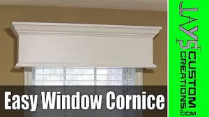 easy diy window cornice 177 you