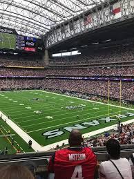 Houston Reliant Stadium Seating Chart Nrg Stadium Level 3 Club Level Home Of Houston Texans With