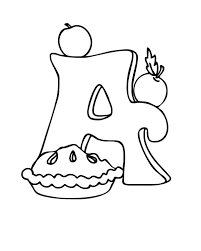 Small Picture A is for Apple Pie Coloring Pages Bulk Color
