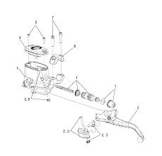 2013 polaris sportsman 500 hd a13mh50td front brake lever and master rh bikebandit clutch assembly kit ktm pression release lever