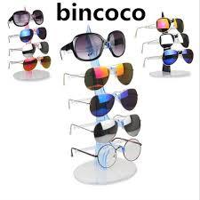 A Frame Display Stands bincoco Plastic display holders for Sun Glasses Eyeglasses Frame 90