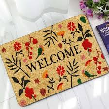 colorful welcome mat. Modren Colorful 3mm Super Thin Retro Colorful Mats Antislip Carpet Floor Mat Outdoor Rugs  Rubber Welcome On E