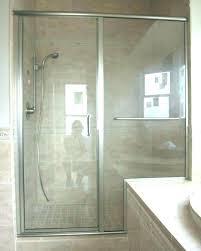 shower door bottom track beautiful replacement sliding glass doors