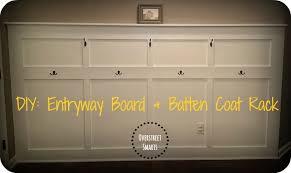 Coat Rack Board House of Overstreet DIY Entryway Board Batten Coat Rack 34