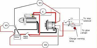 diesel engine alternator wiring diagram alternator wiring diagram parts at Automotive Alternator Wiring Diagram