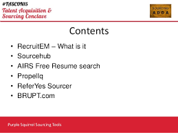 Resume Search Free Mesmerizing Purple Squirrel Sourcing Tools Sathish Ganesh Sourcing Lab