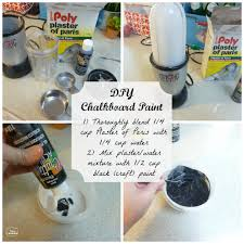 diy chalkboard pillow pottery barn knockoff the happy chalk paint recipe with plaster of paris